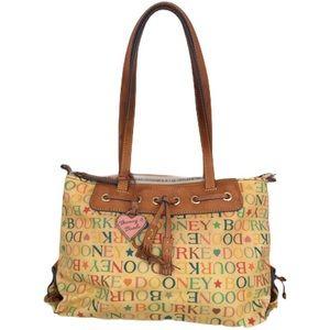 Vintage Dooney & Bourke hand shoulder bag purse